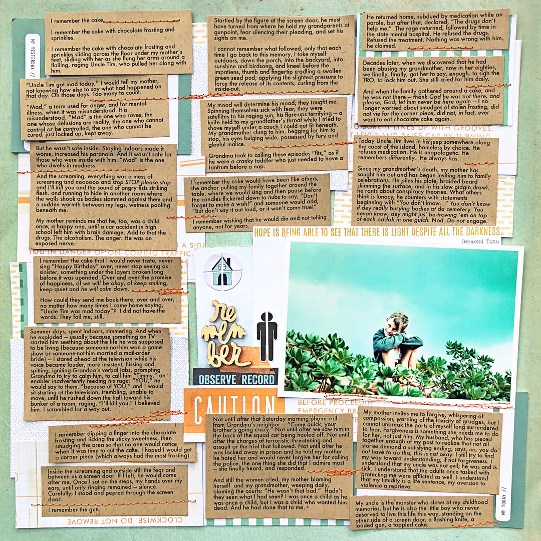 Scrapbook Ideas for Making Your Story the Star of The Page