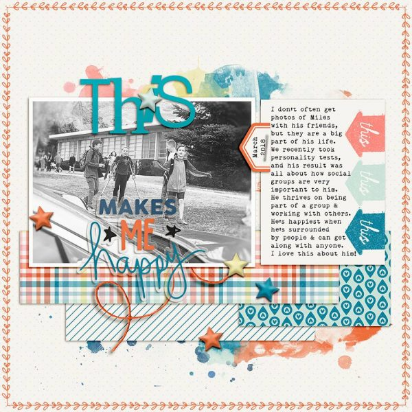 Scrapbook Ideas for Telling More of Your Character's Back Story | Lynnette Wilkins | Get It Scrapped