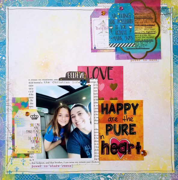 Scrapbook Ideas for Telling More of Your Character's Back Story | Nicole Mackin | Get It Scrapped