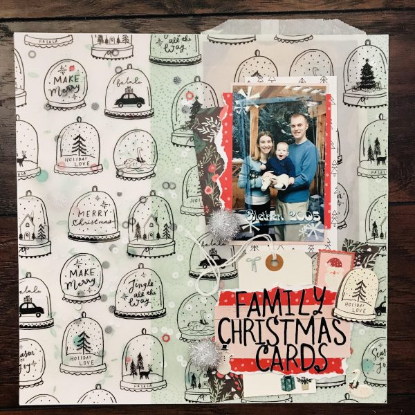 Scrapbook Ideas for Recording Holiday Constants & Changes | Megan Blethen | Get It Scrapped