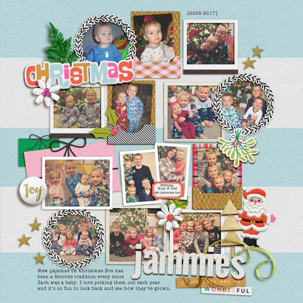 Scrapbook Ideas for Recording Holiday Constants & Changes | Lynnette Wilkins | Get It Scrapped